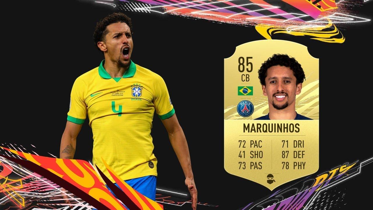 Marquinhos FIFA 21 Player Review - Hidden Gem - YouTube