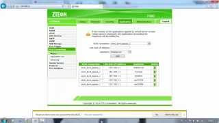 setting port forwarding zte f660 indihome
