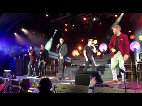 Backstreet Boys Cruise 2018  Get Down Youre The One For Me  May 4, 2018