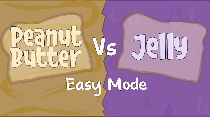 peanut butter versus jelly easy mode  rhythm play along