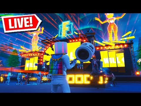 FORTNITE MARSHMELLO LIVE EVENT HAPPENING NOW!! (Fortnite Battle Royale LIVE EVENT)