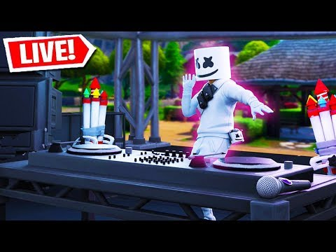 FORTNITE MARSHMELLO LIVE EVENT HAPPENING NOW!! (Fortnite Battle Royale LIVE EVENT) thumbnail