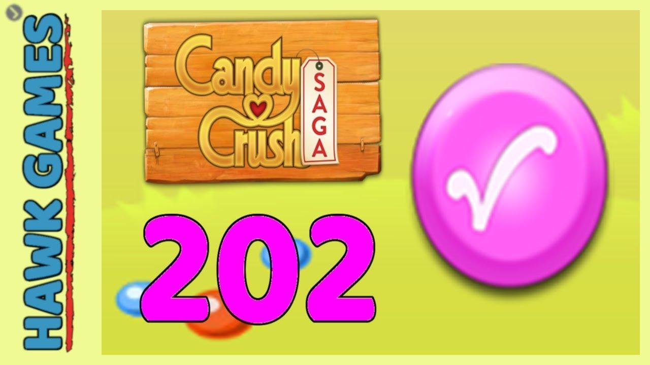 Candy Crush Saga Level 202 (Candy Order level) - 3 Stars Walkthrough, No  Boosters