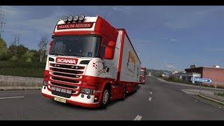 Покупаем SCANIA  [ETS 2 MP]// Euro Truck Simulator 2.  #19 (руль logitech g29)
