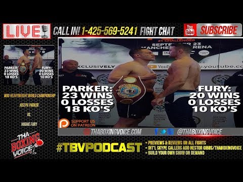 Joseph Parker vs. Hughie Fury Live Fight Chat