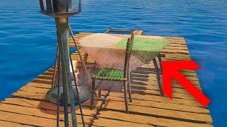 СТУЛЬЯ В ОКЕАНЕ? НОВЫЕ ПРЕДМЕТЫ! | Raft