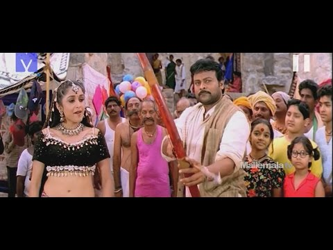 "Chiru Vs Ramyakrishna scene || ""Anji"" Movie || Chiranjeevi | Namrata Shirodkar"