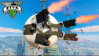 GTA V PC MODS DRON DE COMBATE DE LA PELÍCULA DE OBLIVION !! Makiman