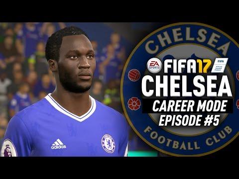 BRINGING BACK ROMELU LUKAKU!? FIFA 17 Chelsea Career Mode #5