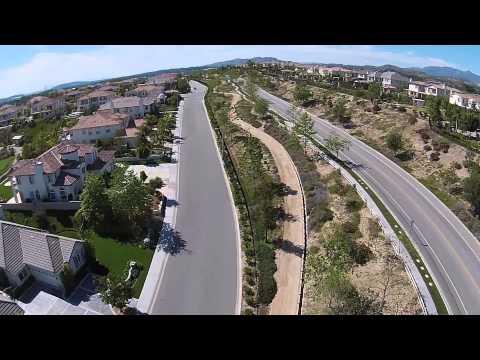 DJI Phantom Longest Flight Over Beverly Hills