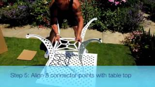 Lazy Susan Garden Furniture: How To Build A Lucy Garden Table