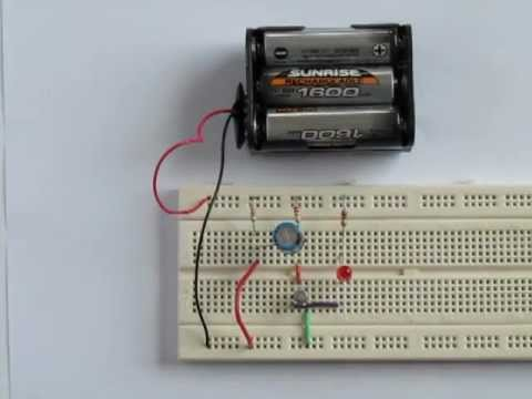 tutorial 2 transistor timer circuit youtube rh youtube com Transistor Radio Circuit Light Timer Circuit