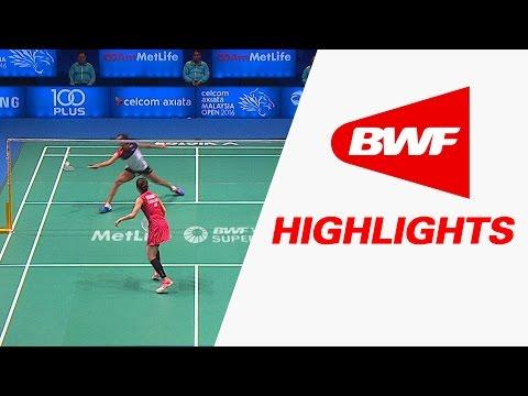 Celcom Axiata Malaysia Open 2016   Badminton QF – Highlights