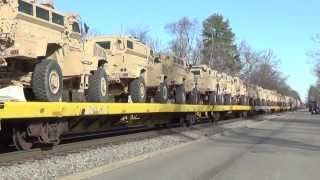 CSX and Amtrak trains through Ashland, VA / Train Horn warning signals and more!