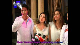 Team Tumhari Pakhi celebrating success