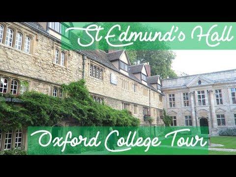 UNIVERSITY of OXFORD St Edmund