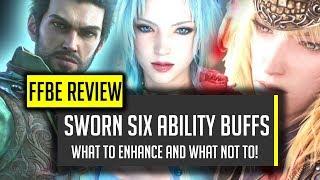 sworn six ability awakenings overview cid gets stronk ffbe final fantasy brave exvius