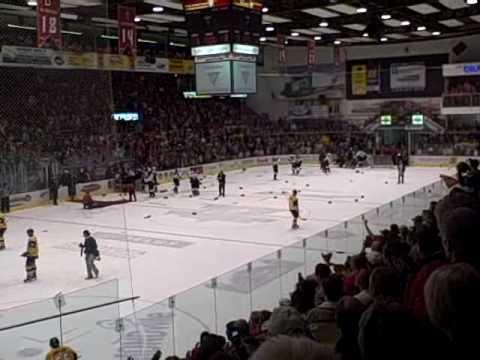 12-05-2009 Drummondville, Dernières secondes et Célébrations
