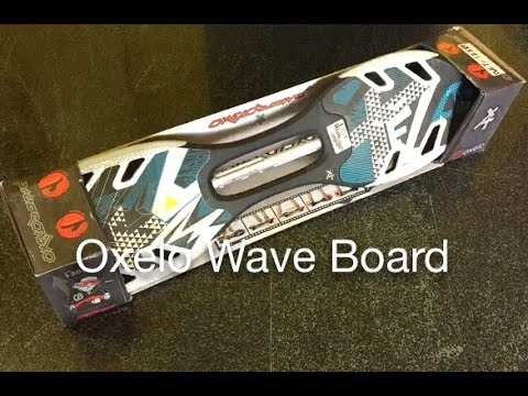 how to ride a waveboard