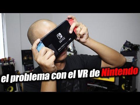 El problema con el VR de nintendo