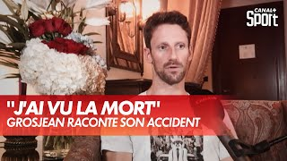 Romain Grosjean raconte son accident étape par étape