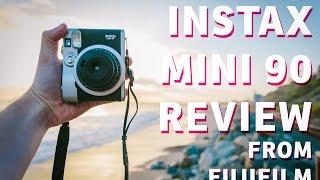 Impressive Instant Film Camera: Review of Instax Mini 90 from Fujifilm