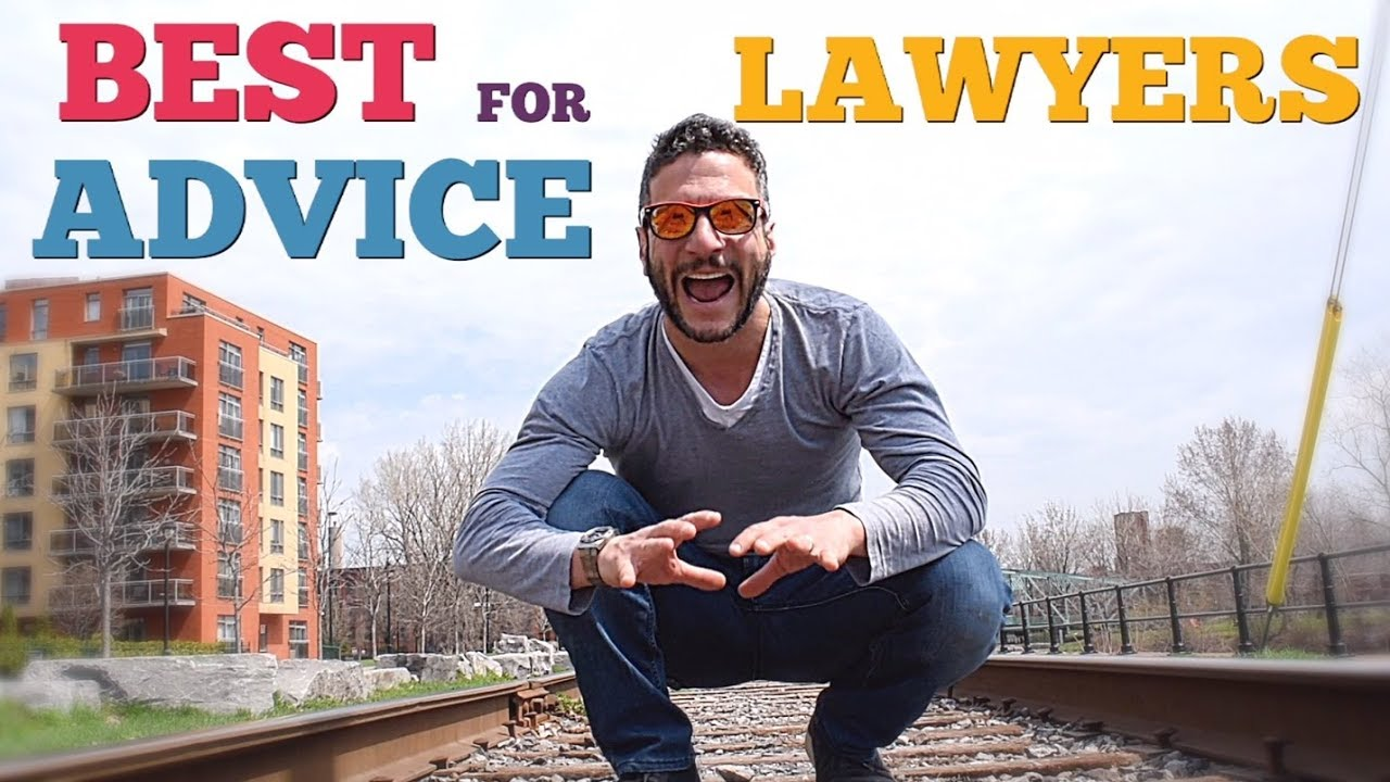 The Best Advice I Ever Got As A Young Lawyer Life Of