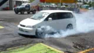 Honda Odyssey burnout(RA1)