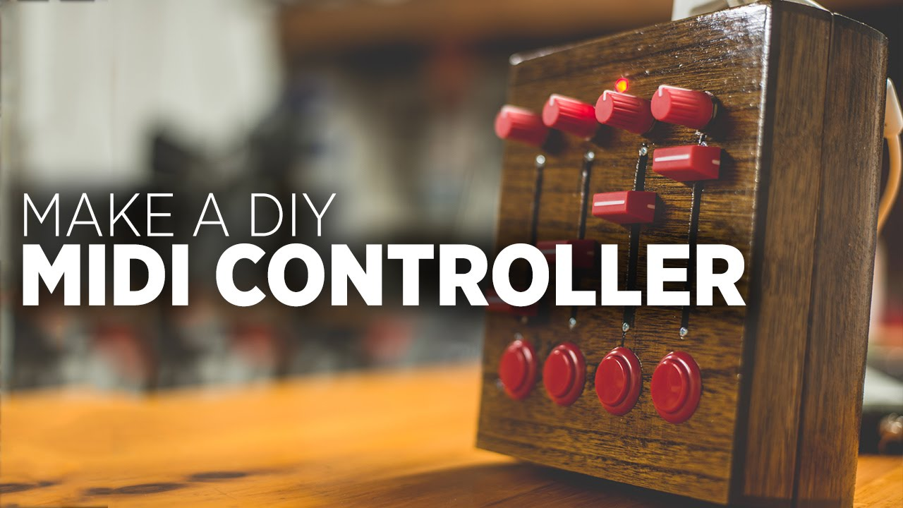 How To Build A Diy Midi Controller 2015 Edition Youtube