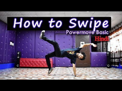 How to Swipe in hindi | bboy Easy tutorial | step by step | Ajay Poptron