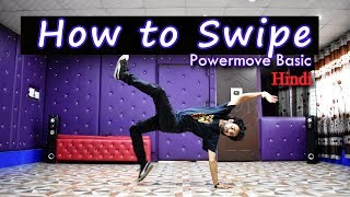 Baixar How to Swipe in hindi | bboy Easy tutorial | step by step | Ajay Poptron