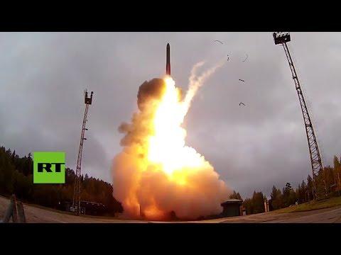 Rusia realiza el lanzamiento de prueba de un misil balístico intercontinental Yars