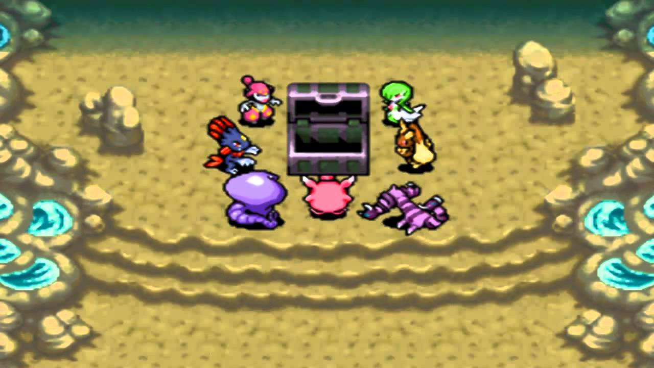 pokemon mystery dungeon explorers of sky rom gba4ios