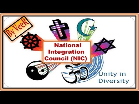 L-110- National Integration Council (NIC) & National Foundation for Communal Harmony (NFCH)  By VeeR