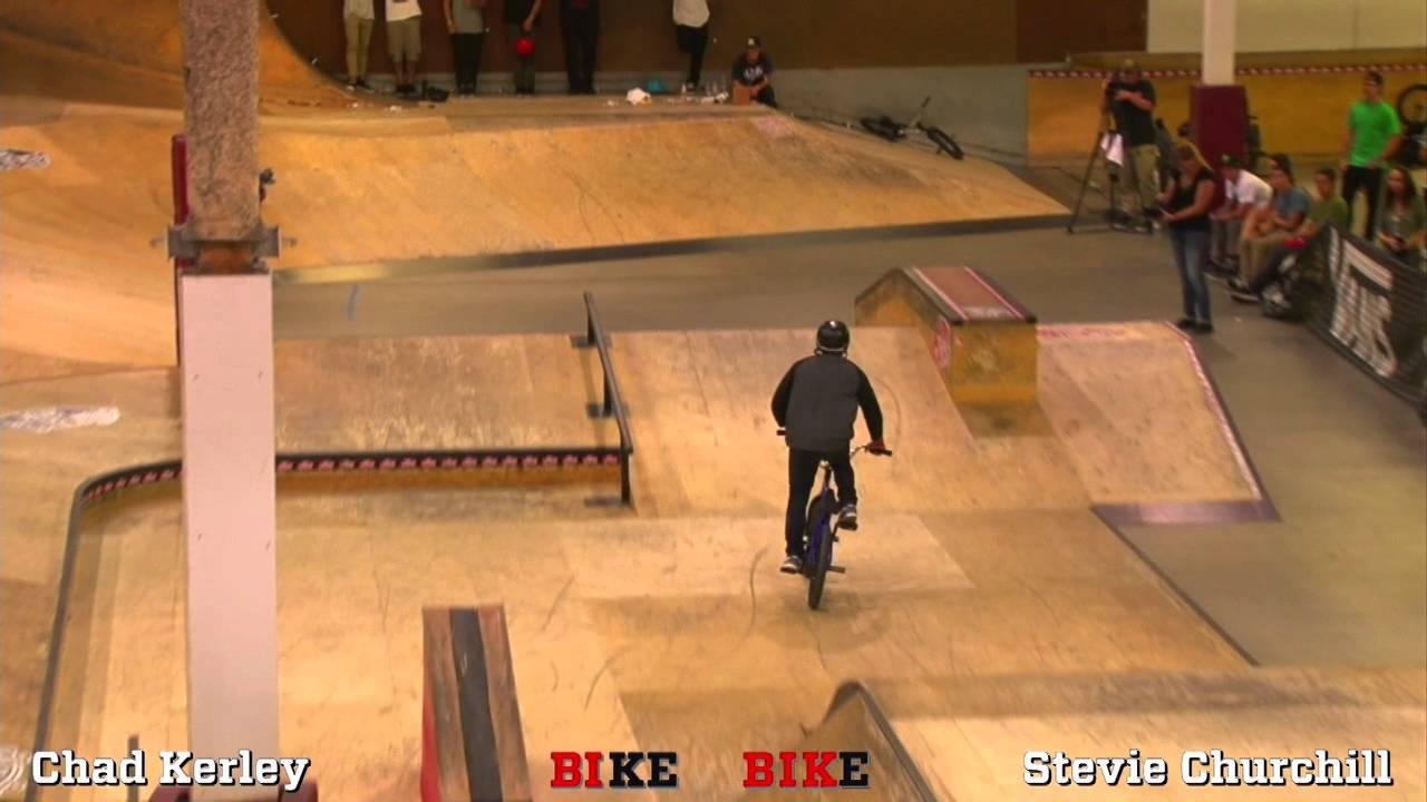 Vital BMX Game of BIKE: Stevie Churchill vs Chad Kerley ...