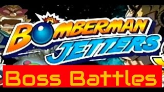 "Bomberman Jetters GCN with ""12"" Boss Battle Collections"