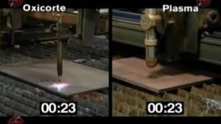 Plasma vs Oxicorte Hypertherm México
