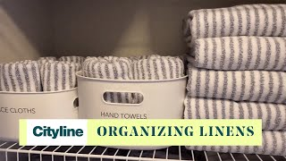 The organizing system to declutter your linen closet