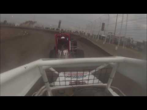 Michelle Decker - Airport Raceway - POWRi West midgets