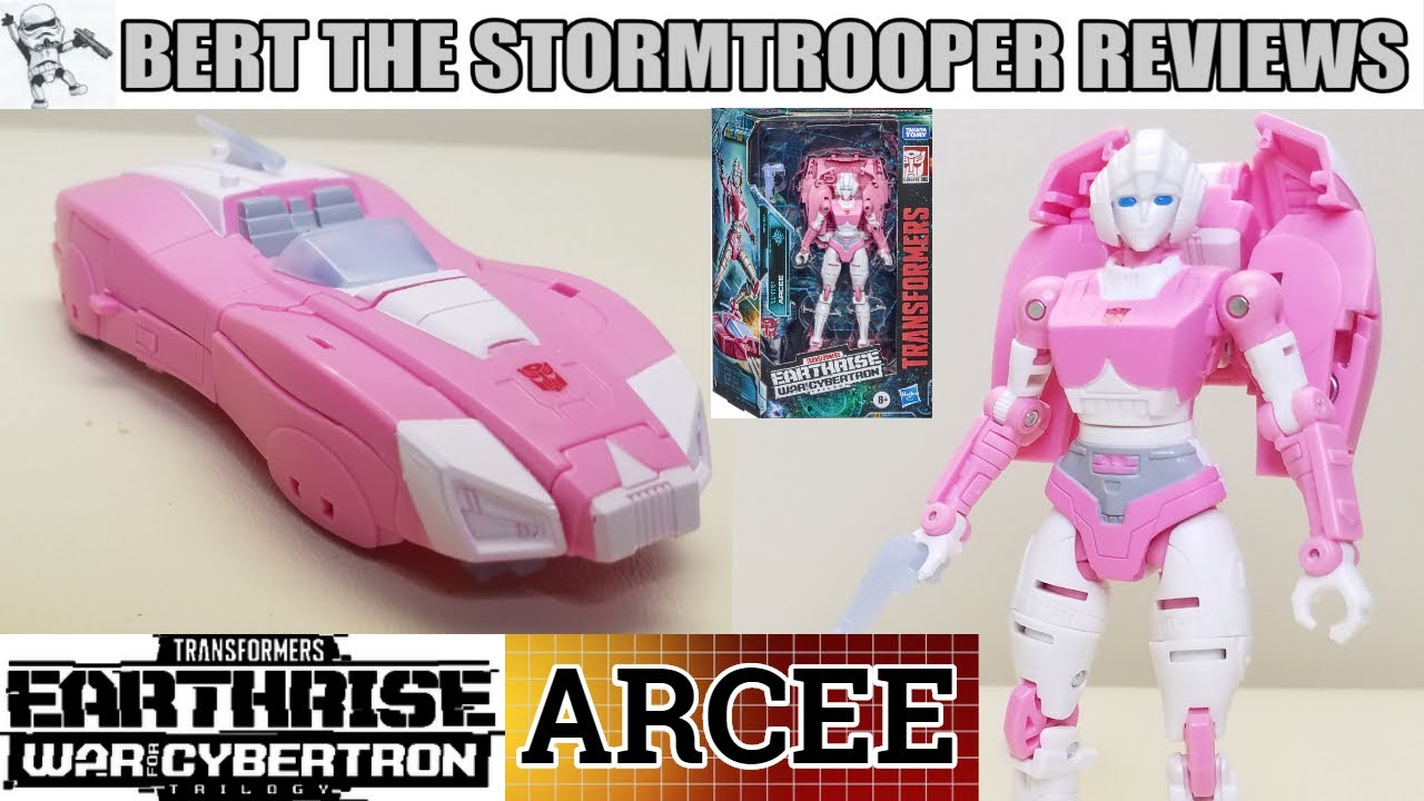 Transformers War for Cybertron; Earthrise ARCEE Review by Bert the Stormtrooper!