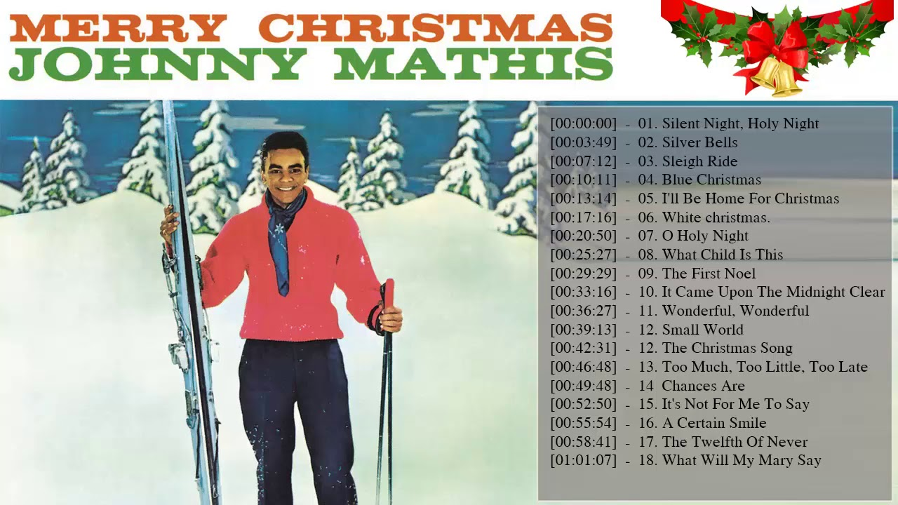 Johnny Mathis Christmas Album 2019 - Best Christmas Songs Of Johnny ...