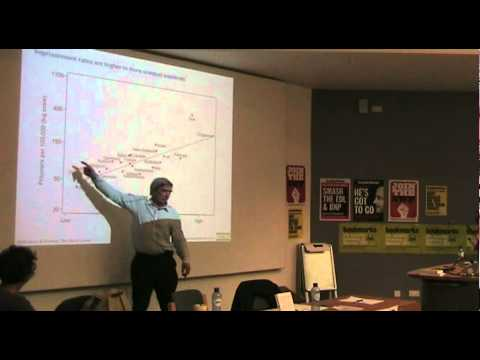 The Spirit Level: Why Equality Is Better For Everyone - Richard Wilkinson - Marxism 2011
