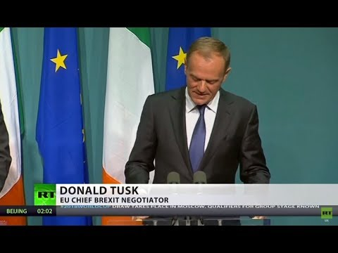 Tusk: EU will reject Brexit deal if not accepted by Ireland