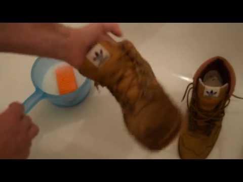 Замша. Правильная чистка обуви!( Стасяновская методика) how to clean suede.