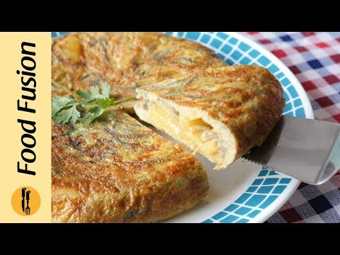 Pakistani Spanish Omelette Recipe By Food Fusion Detailed
