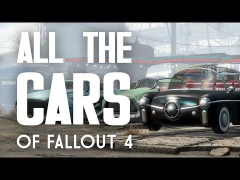 All the Cars of Fallout 4 - Corvega, Rocket 69, Fusion Flea, & More