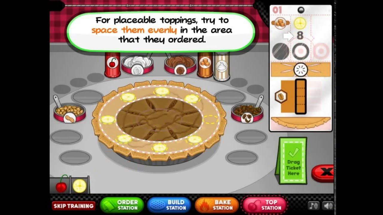 papas bakeria game online