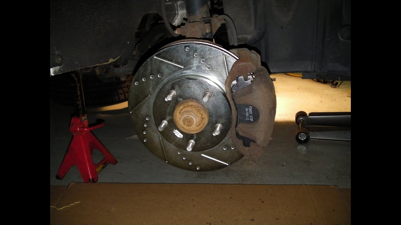 2003 Mitsubishi Outlander Power Stop Brake Kit Before And After Youtube