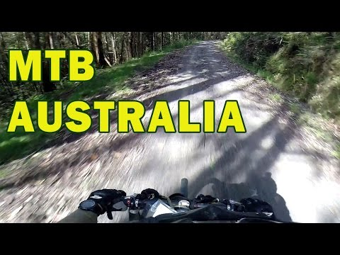 Downhill Mountain Biking - Remote Australian Bushland