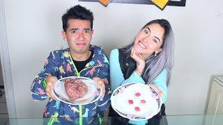 Comida Real vs Comida de Gomita (Cerebros, Patos y Más) - Ami Rodriguez Ft. Kika Nieto